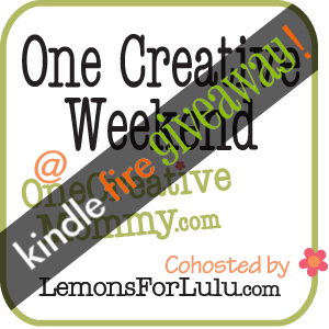One Creative Weekend #28 {Kindle Fire Giveaway!}