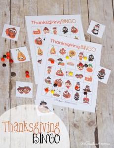 Best Thanksgiving Bingo Game!