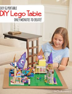 Turn any surface into a Lego table in minutes!