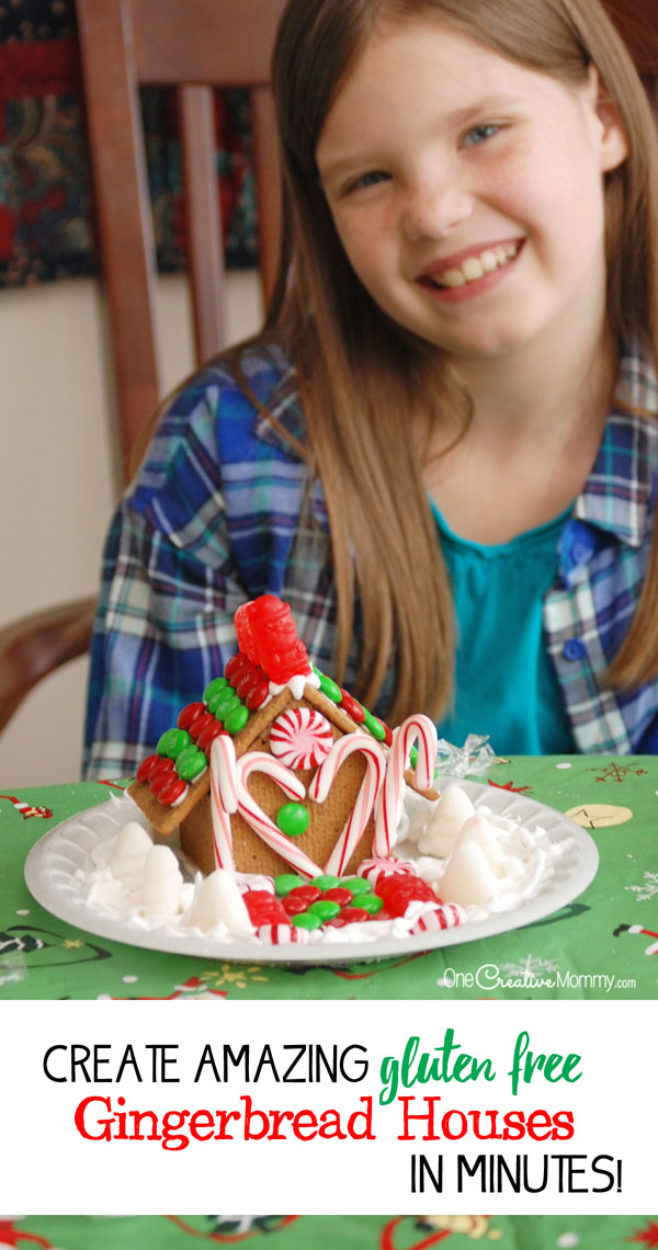 The Simple Hack To Assemble Gingerbread Houses In Minutes
