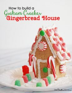Easy Steps to Build a Gingerbread House with Graham Crackers
