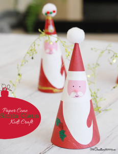 Irresistable Santa Claus Kids Craft
