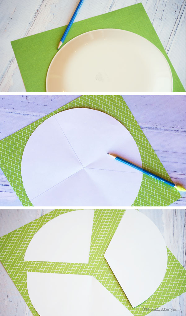 Paper Cone Steps {OneCreativeMommy.com}