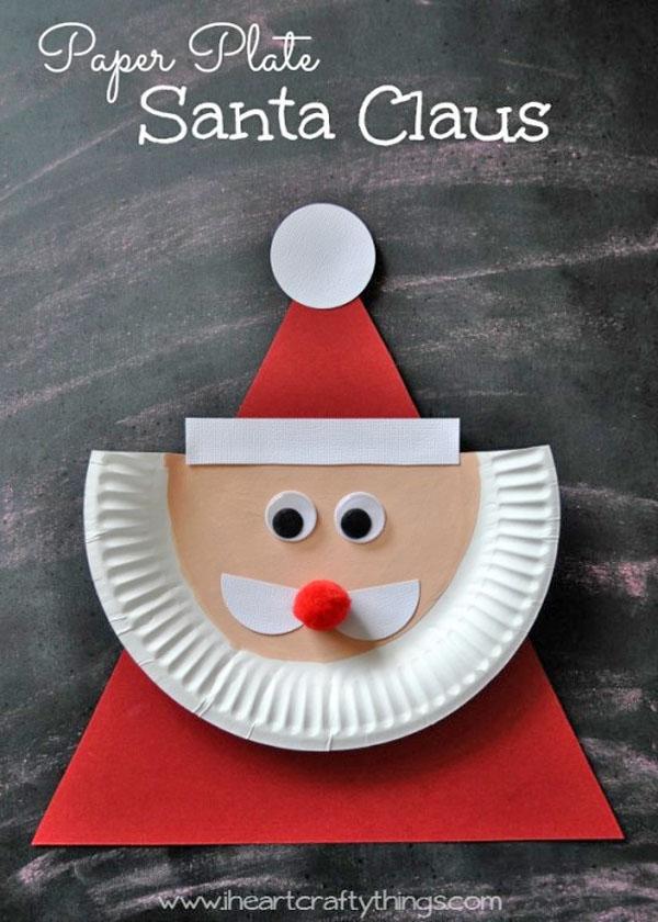 paper-plate-santa-claus